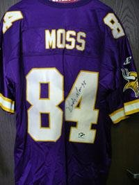 new styles 2aba8 79be9 Randy Moss Autographed Jersey - Autographed NFL Jerseys at ...