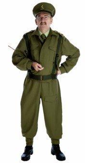Homeguard - WW2 Soilders Uniform - Adult Fancy Dress Costume - Large - 42-44 by Fun Shack ()