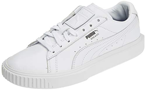 Black puma Leather White Puma Sneakers puma Mixte Adulte Basses Blanc 03 Breaker x0awHpBqpv