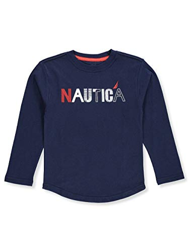 L/s Shirt Nautica (Nautica Little Boys' L/S T-Shirt - Navy, 6)