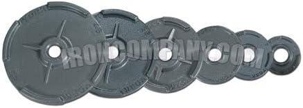 York 1,260 LB。quad-gripデュアルフランジCast IronオリンピックプレートPackage Deal