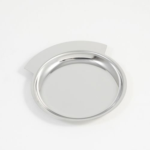 Change Tray / Wine Bottle Coaster, Chrome