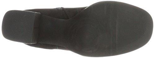 Bianco Damen Plateau Boots Stiefel Schwarz (Black)