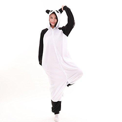 in per Panda AGOLOD Pigiama adulti per Pile adulti Tutina Unisex Kigurumi n7HHqYOw