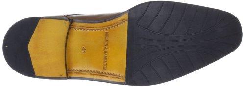 Melvin & Hamilton Alex 2 Alex 2 - Zapatos de cuero para hombre Marrón (Forum tan)