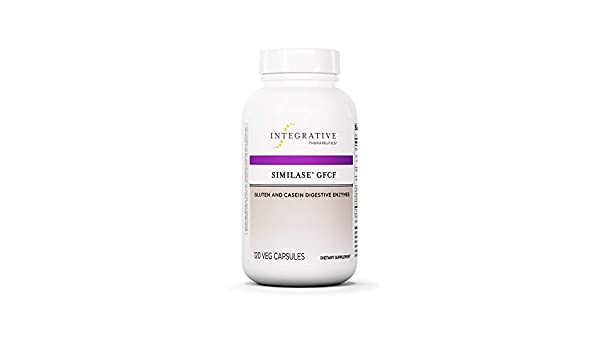 Integrative Therapeutics - Similase GFCF 120 UltraCaps: Amazon.es: Salud y cuidado personal