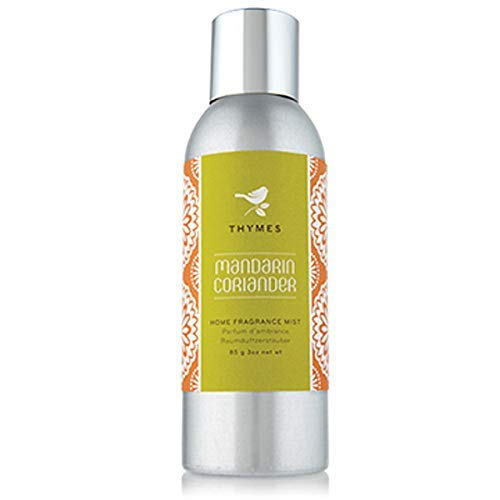 Home Fragrance Leaf Mist - Thymes FBA_637666028262 Home Fragrance Mist, Mandarin Coriander