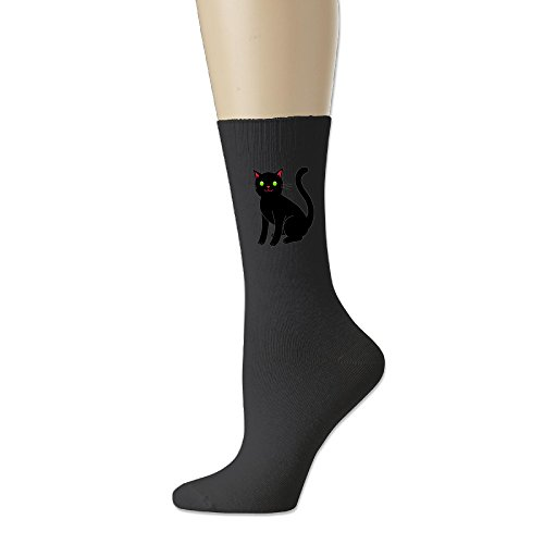 Black Cat Geek Cotton Socks Low-Cut Socks