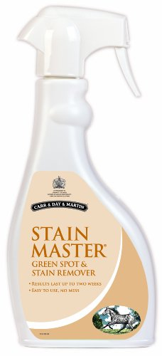 Carr & Day & Martin Stain Master 500ml - A green spot and stain remover for horses. Results last up to 2 weeks. by William Hunter Equestrian