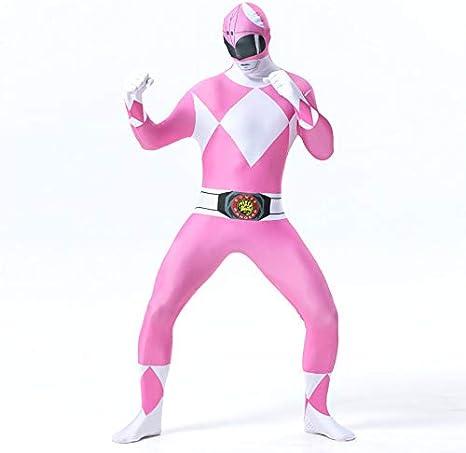 FYBR Disfraz de Power Ranger de Mighty Morphin para niños, unisex ...