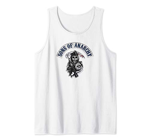 Sons of Anarchy Bloody Sickle Tank Top (Anarchy Sons Of Top Tank)