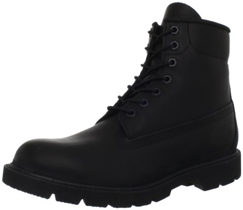 Timberland Men's Six-Inch Basic Boot,Black,13 M US by Timberland