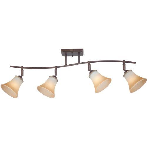 - Quoizel DH1404PN Duchess Adjustable Track Kits Lighting, 4-Light, 400 Watts, Palladian Bronze (13