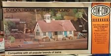 Con-Cor School House With Playground 9036 H0-Scale