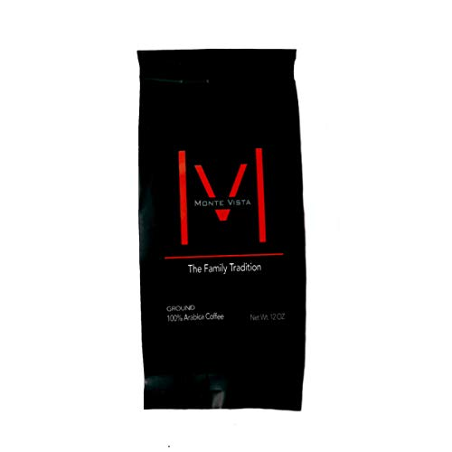 MONTE VISTA CRAFT COFFEE - Honduran Specialty Coffee-MICRO-BATCH ROAST-Medium dark Roast, STRICTLY HIGH GROWN with floral notes and CHOCOLATE FINISH! 12oz