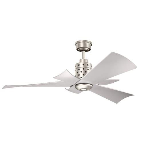 5 Blade 56' Blade (Kichler 300163NI 56`` Ceiling Fan)