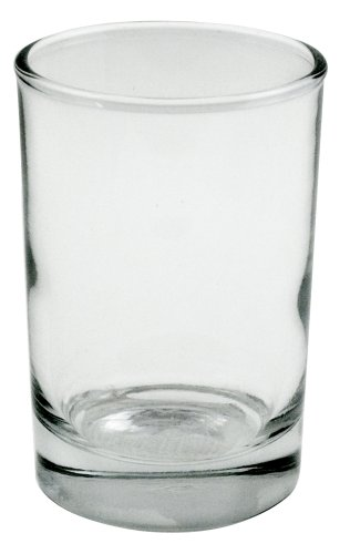 - Anchor Hocking 12537ECOM Hocking Heavy Base Juice Glasses, 5 oz (Set of 12)