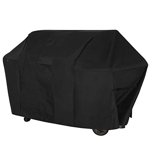 Modern Leisure 2985 Monterey 6 Burner Propane Grill Cover (73 L x 25 D x 44.5 H inches) Waterproof, Large, Black
