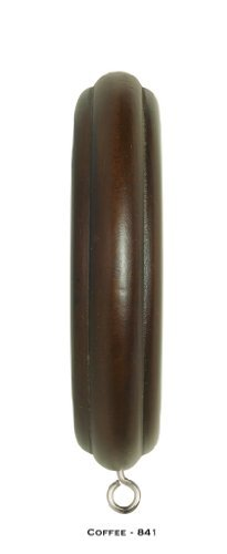 """Wood Trends Rings for 2"""" Pole (4 each) (Coffee)"""