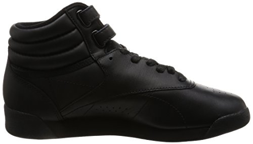 Reebok Freestyle Hi, Women's Hi-Top Sneakers Black (Intense-black 0)