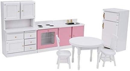 Amazon.es: Shanbor Dollhouse - Juego de Muebles de Cocina en ...