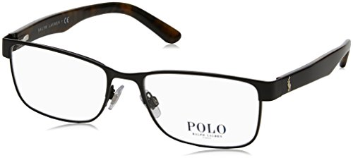 Polo PH1157 Eyeglass Frames 9038-55 - Matte Black - Prescription Polo Glasses