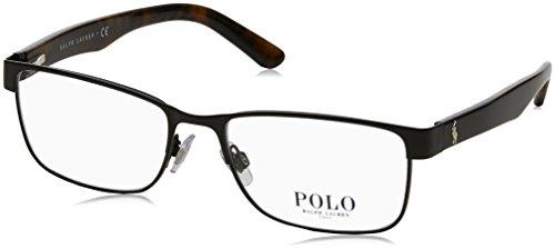 Polo PH1157 Eyeglass Frames 9038-55 - Matte Black PH1157-9038-55