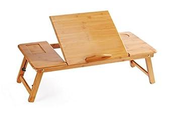 Très pratique discret petit bureau pour pc portable ikea a