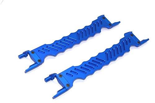 FidgetGear Aluminum Alloy Battery Holder - 1PR Blue for Traxxas X-MAXX XMAXX 7719