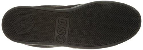 Black Nero Shoes Nubuck 2 Skateboard DVS Black Scarpe da Uomo 004 Revival 6zwx7