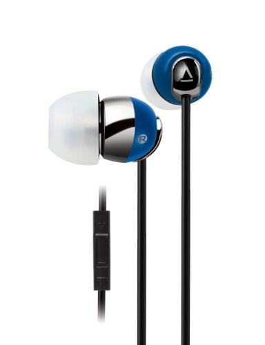 Creative HS-660I2 Kabelgebundenes In-Ear Headset (integrierte Fernbedienung) für iPhone, iPod, iPad blau