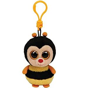 TY Sting Animales de juguete Felpa Negro, Naranja, Amarillo - juguetes de peluche (Animales de juguete, Negro, Naranja, Amarillo, Felpa, Niño/niña)