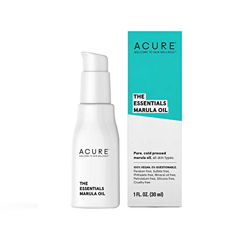 Face Marula - ACURE The Essentials Marula Oil, 1 Fl. Oz. (Packaging May Vary)
