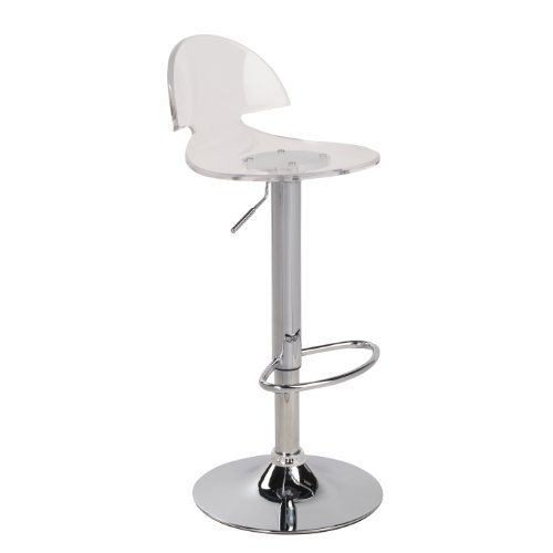 Lumisource Venti Barstool - Lumisource Acrylic Bar Stools
