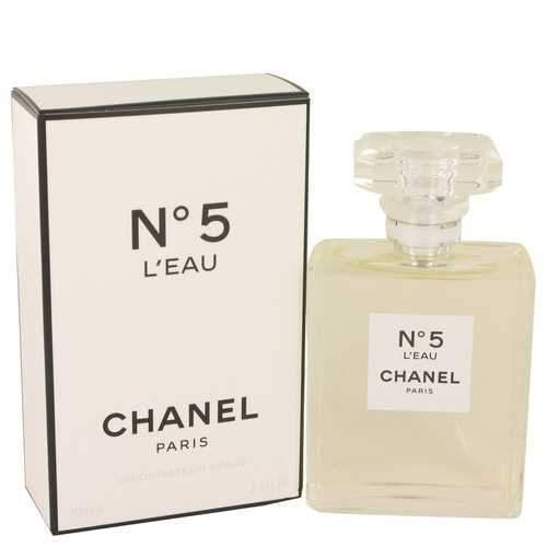 Chánel No. 5 L'eau by Chánel Eau De Toílette Spray 3.4 oz (Women)