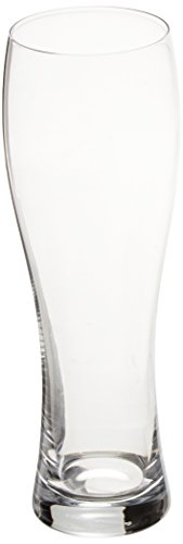 Villeroy & Boch 1137858167 Purismo Crystal Beer Glasses, 14-Oz, Clear