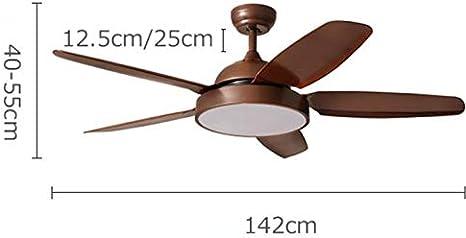 Lamparas de techo Araña, lámpara de control remoto para ventilador ...