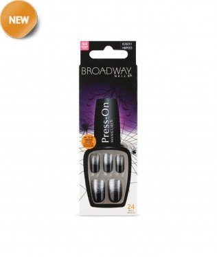 Broadway Nails Press-On Manicure Design - 63931 Ghostly]()