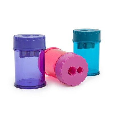 Rapesco R34DCDB2 Doppel Dosenspitzer (geeignet für 6mm und 8mm Bleistifte) ausgewählte Farben
