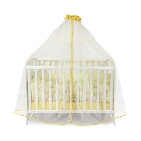 Lorelli Babybetthimmel Farbe:beige Baldachin 480 x 150 cm Insektenschutz Babybett Laufstall