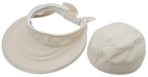 Women s Big Wide Brim Sun Hat UV Protection Visor Sun Hat Lightweight Golf  Folding Hat 6269d9ff11