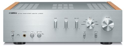 Yamaha A-S2000SL Natural Sound Stereo Amplifier (Silver) by Yamaha