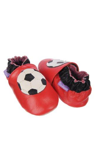 Pre Shoes–Zapatos para recién nacido (Piel Suave Footy Star–parent ASIN Talla:18-24 meses