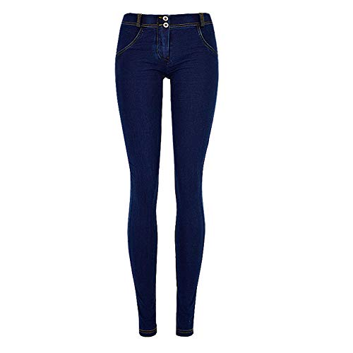 Femmes Pantalons Mode Myyw Confortable Coupe Hanche Slim La Taille Respirant Lavé Jeans m Sauvage Cow Vêtements Basse Pour Super Élastique boy dUUqnzxWZ