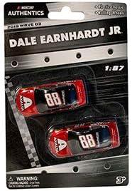 NASCAR Authentics Dale Earnhardt Jr #88 Axalta Two-Pack 1:87 2019 Wave 3