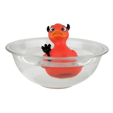 CelebriDucks Devil Duck Rubber Duck Bath Toy