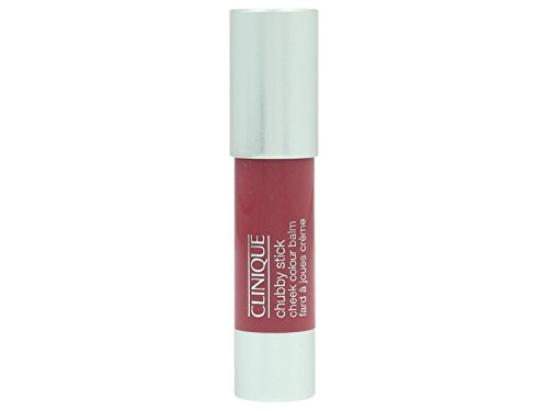 Clinique Chubby Stick Cheek Color Balm for Women, Plumped Up Peony, 0.21 Ounce