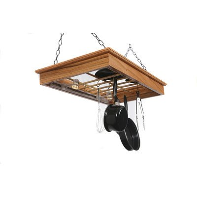 Hanging Pot Rack with Lights