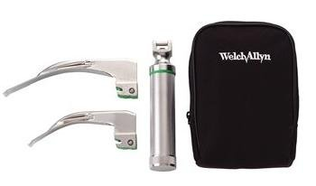 Welch Allyn Portable Laryngoscope Set for Children & Small Adults