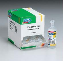 Eyewash- 1 oz. plastic bottle- screw top- 12 per dispenser box At Home Emergency